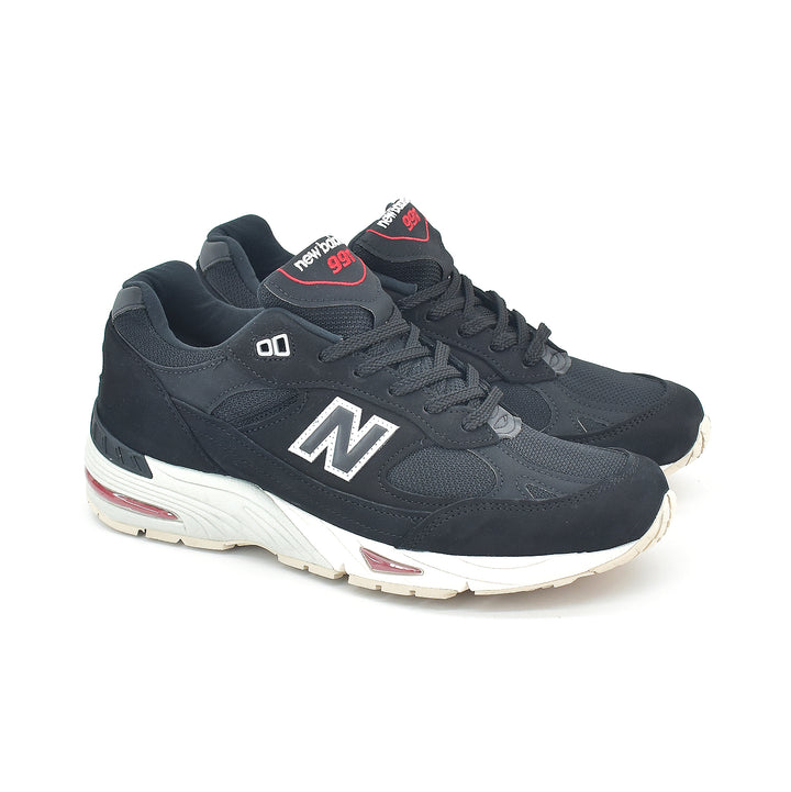 New Balance Made In England 991 Black/Red M991NKR