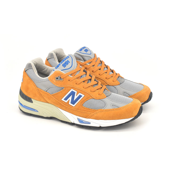 New Balance Made In England 991 Yellow/Blue M991YBG