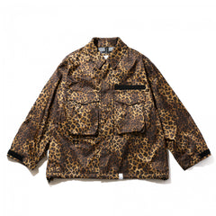 Magic Stick 3 Layer Cozy Kimono BDU Leopard