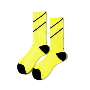 Magic Stick Comfy Lined Socks Volt Yellow