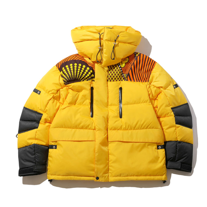 Magic Stick Neo African Puffer Jacket Yellow/Multi