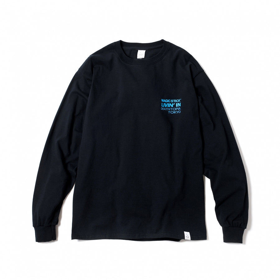 Magic Stick Olympion L/S Tee Black/Blue