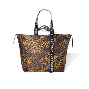Magic Stick 3 Way Tote By Ramidus Tokyo Leopard