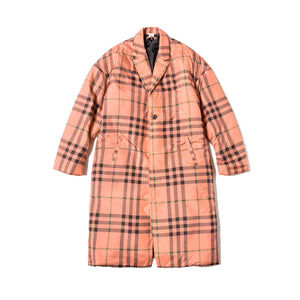 Magic Stick TK Puffer Chester Coat Plaid