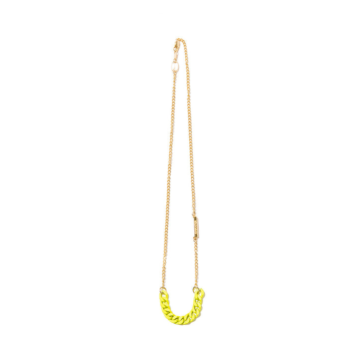 Magic Stick Yakuza Neck Chain Gold/Volt Yellow