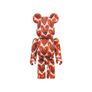 Medicom Toy BE@RBRICK Keith Haring V6 400% + 100%
