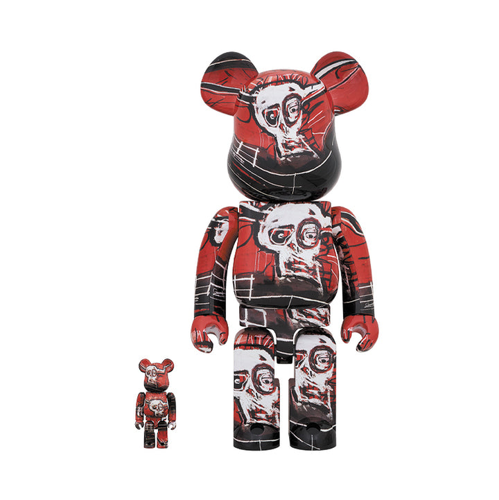 Medicom Toy BE@RBRICK Basquiat V5 400% + 100%