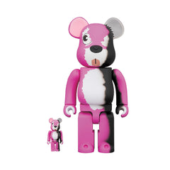 Medicom Toy Be@rbrick Breaking Bad Pink Bear 400% + 100%