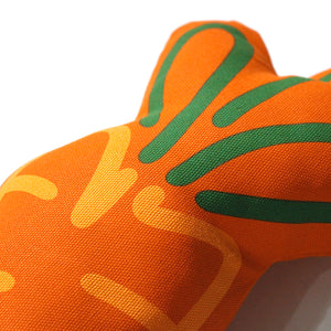 Medicom Fabrick x Carrots Logo Plush Cushion