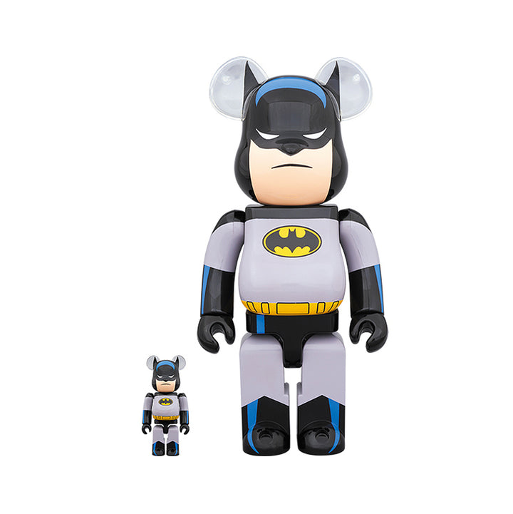 Medicom Toy Be@rbrick Batman Animated 400% + 100%