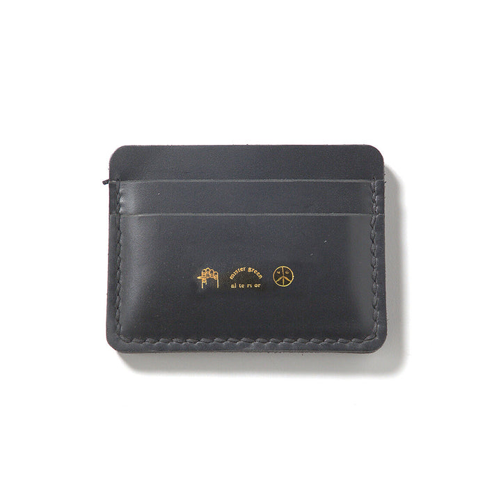 Mister Green Leather Card Case Black