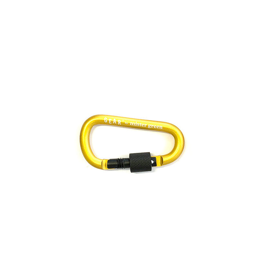 Mister Green Gear Carabiner Yellow