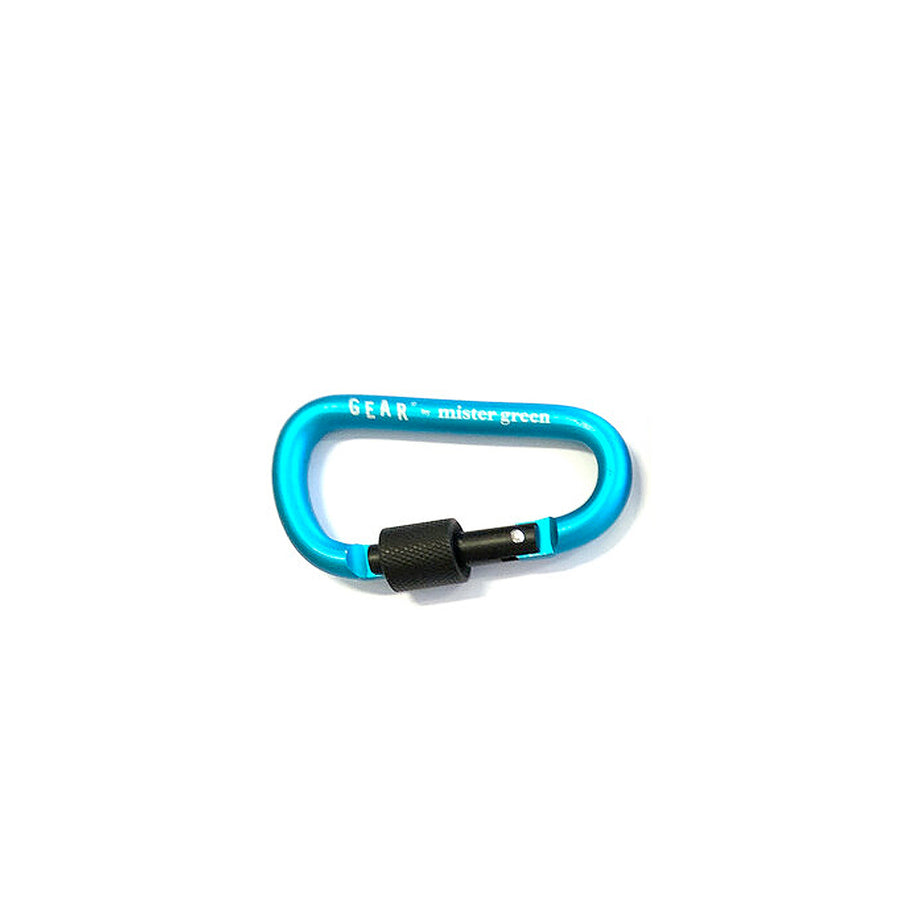 Mister Green Gear Carabiner Light Blue
