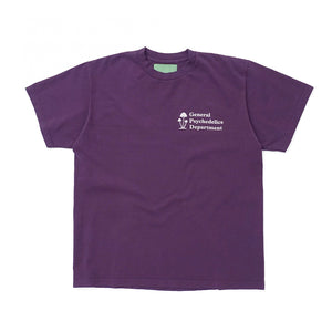 Mister Green General Psychadelics V2 Tee Midnight Purple