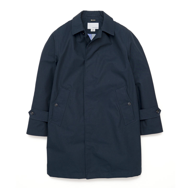 nanamica Gore-Tex Soutien Collar Coat Dark Navy