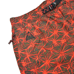 Nike ACG All Over Print Woven Shorts Rush Red/Cargo Khaki