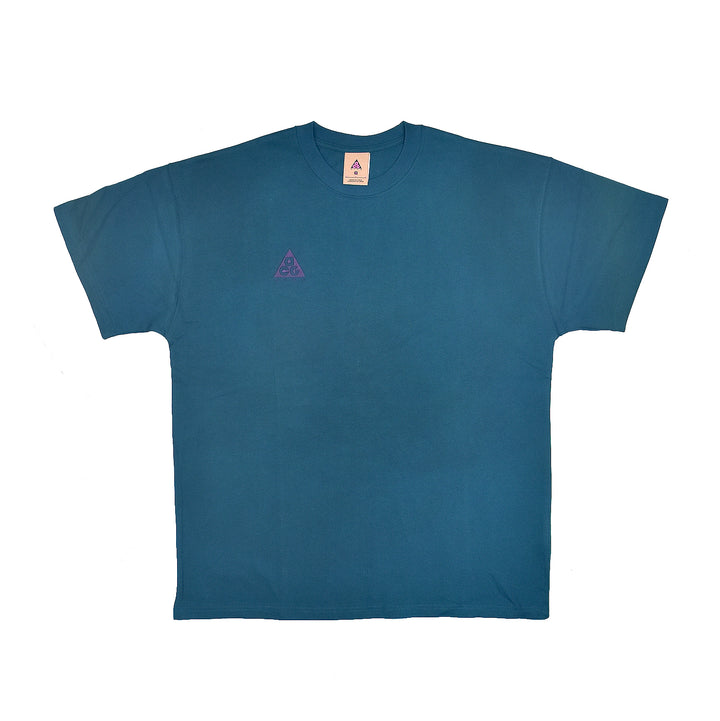 Nike ACG Logo Tee Midnight Turquiose/Grand Purple