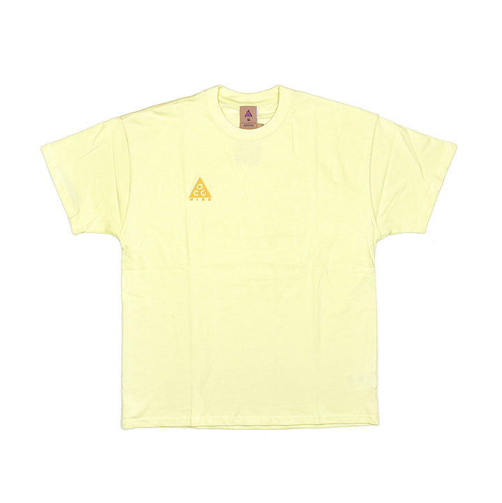 Nike ACG Logo Tee Luminous Green/University Gold