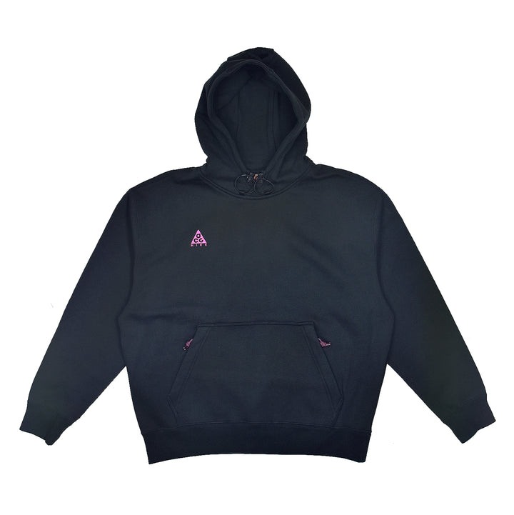 Nike ACG Pull Over Hoodie Black/Active Fuchsia