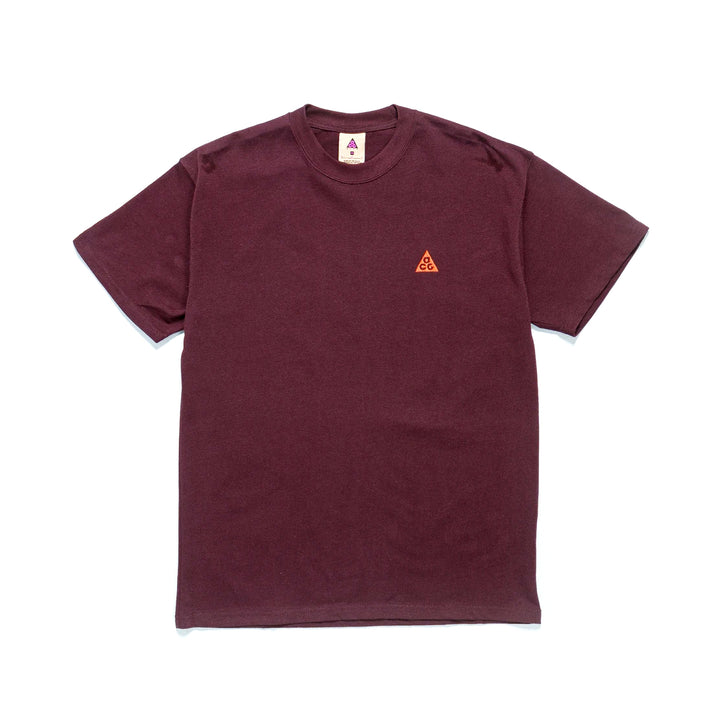 Nike ACG NRG Embroidered Tee Deep Burgundy/Orange DC4081-643