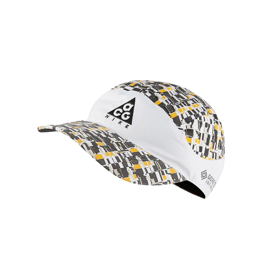 Nike NRG ACG Tailwind Cap All Over Print White/Black/Yellow