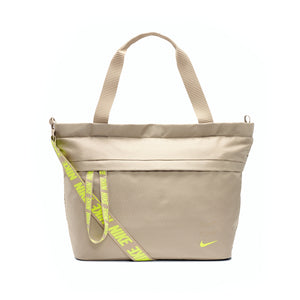 Nike Sportswear Essentials Tote Bag Khaki/Lemon Venom