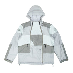 The North Face Steep Tech Light Rain Jacket Wrought Iron/Green Mist/Agave Green