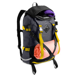 The North Face Steep Tech Pack Grey/Lightning Yellow