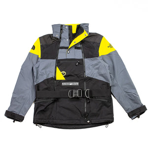 The North Face Steep Tech Apogee Jacket TNF Black/Lightning Yellow/Grey