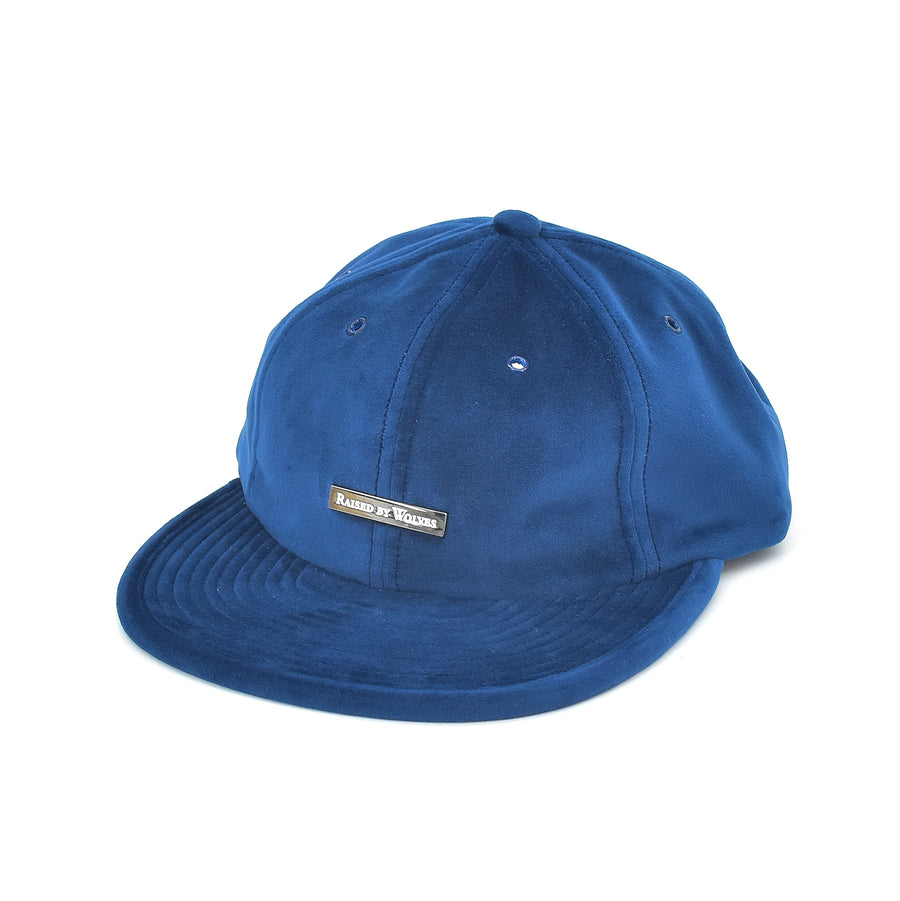 Raised By Wolves Velvet 6 Panel Cap Indigo