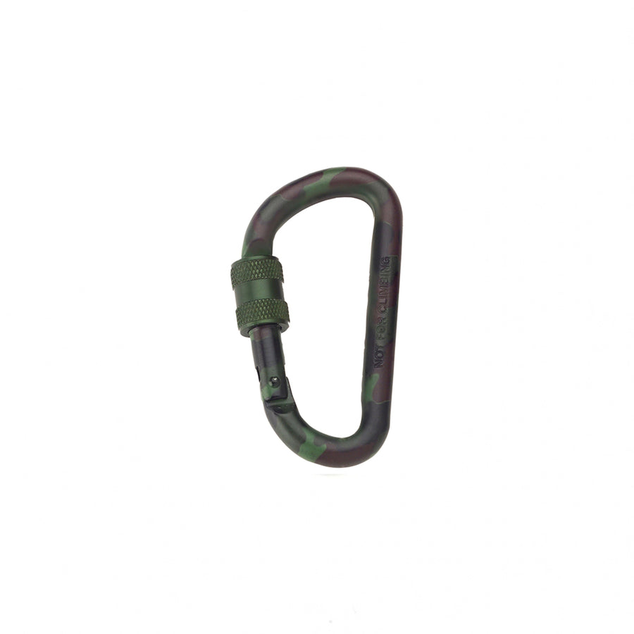 Rothco 80mm Locking Carabiner Camo