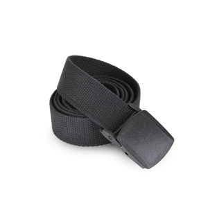 Rothco Military Plastic Buckle Web Belt Black