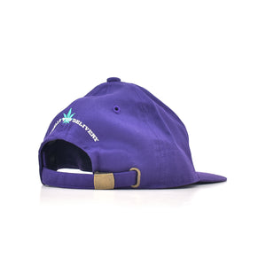 SAYHELLO Deliver Dad Cap Purple