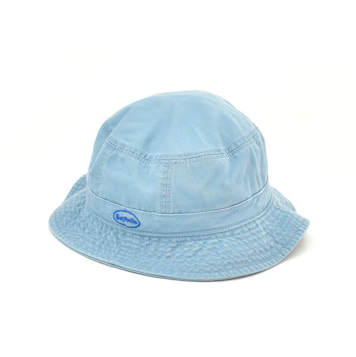 SAYHELLO Cash Logo Washed Cotton Hat Sky