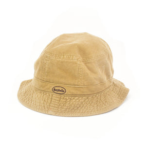 SAYHELLO Corduroy Washed Hat Beige