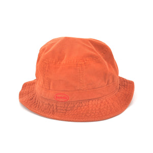 SAYHELLO Corduroy Washed Hat Orange