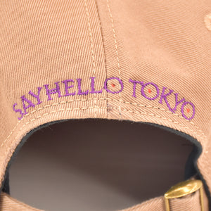 SAYHELLO S.H.T Baseball Cap Coffee