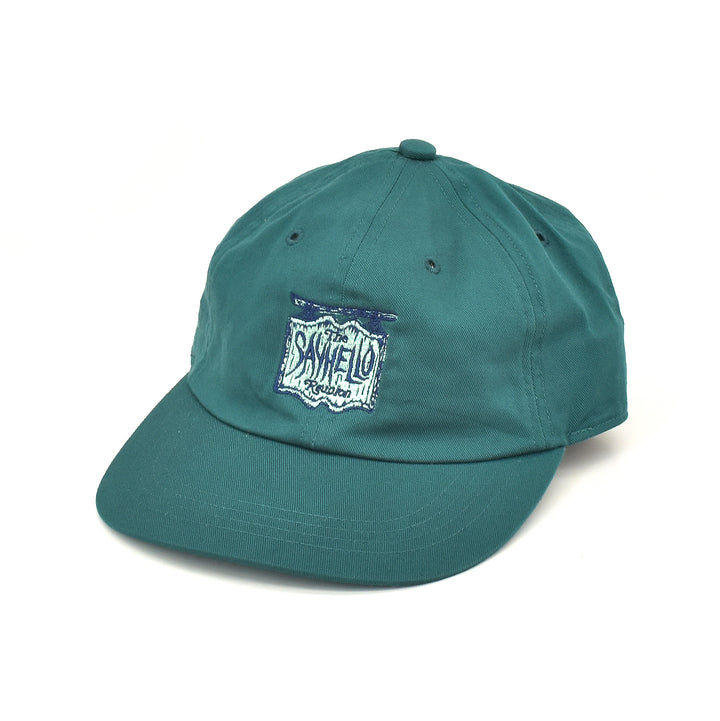 SAYHELLO Mystery Dad Cap Deep Green