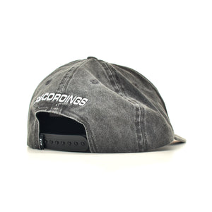 StreetX Recordings Dad Hat Washed Black