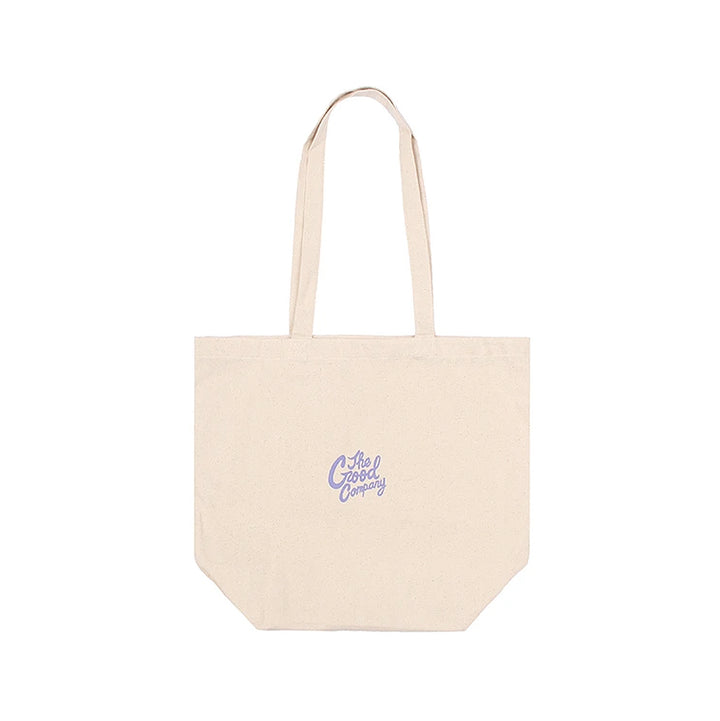 The Good Company Good Time Tote Bag Canvas/Violet