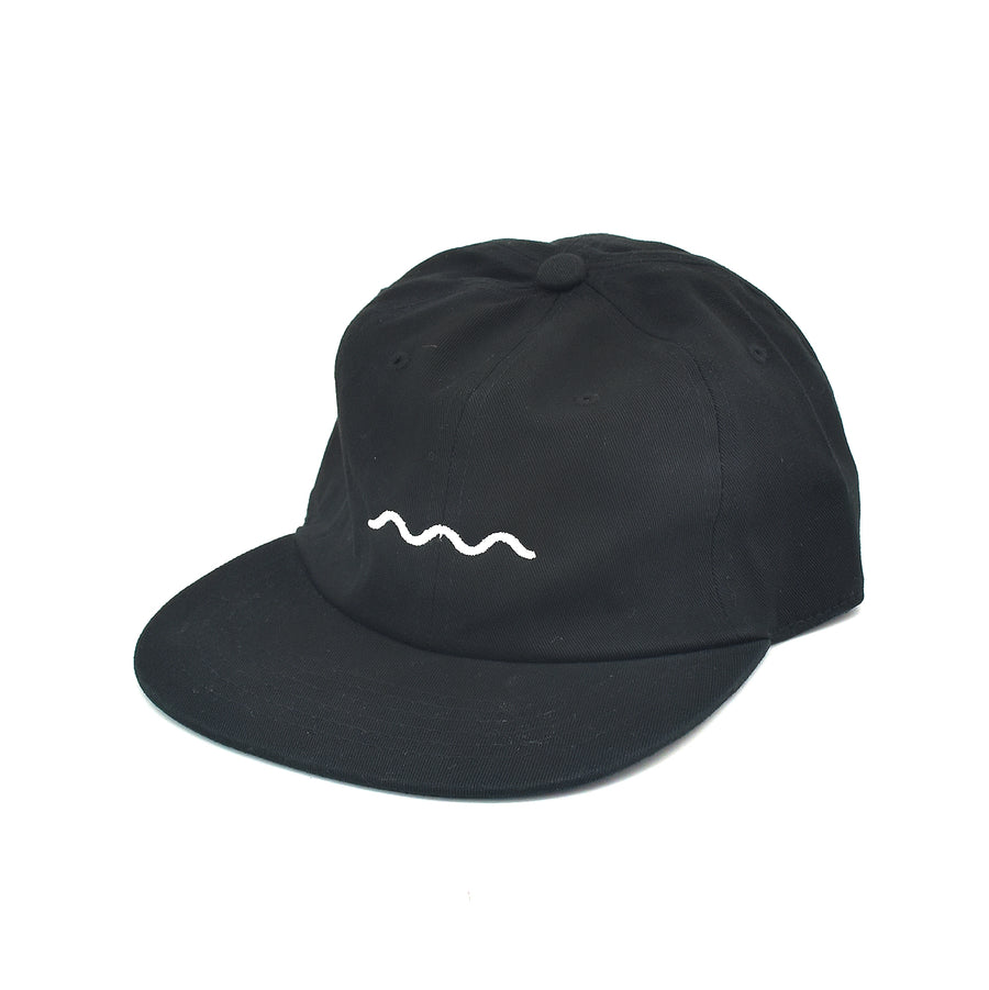 The Good Company Chill Wave Strapback Black/White
