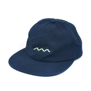 The Good Company Chill Wave Strapback Navy/Neon Green