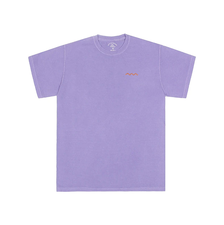 The Good Company Chill Wave Tee Violet/Orange
