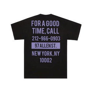 The Good Company Good Time Tee Black/Violet