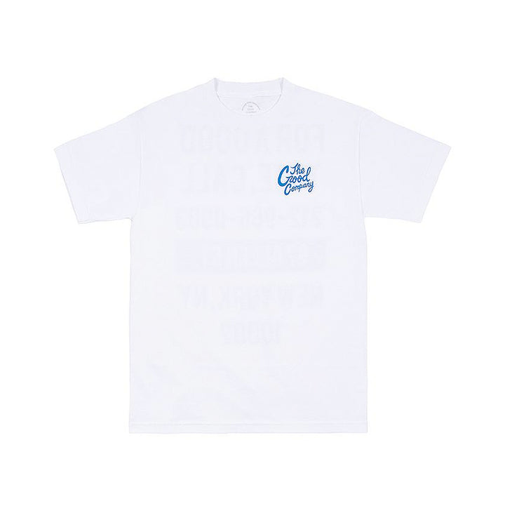 The Good Company Good Time Tee White/Royal Blue