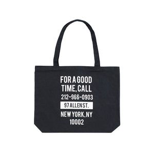 The Good Company Good Time Tote Black/White