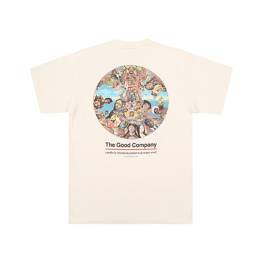 The Good Company Insanity Tee Cream/Multi