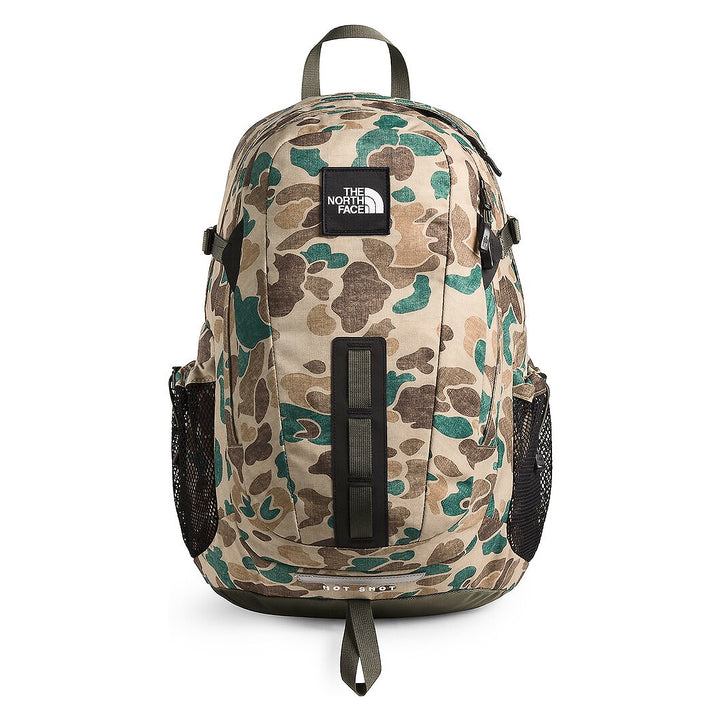 The North Face Hot Shot Special Edition Backpack Khaki Duck Camo