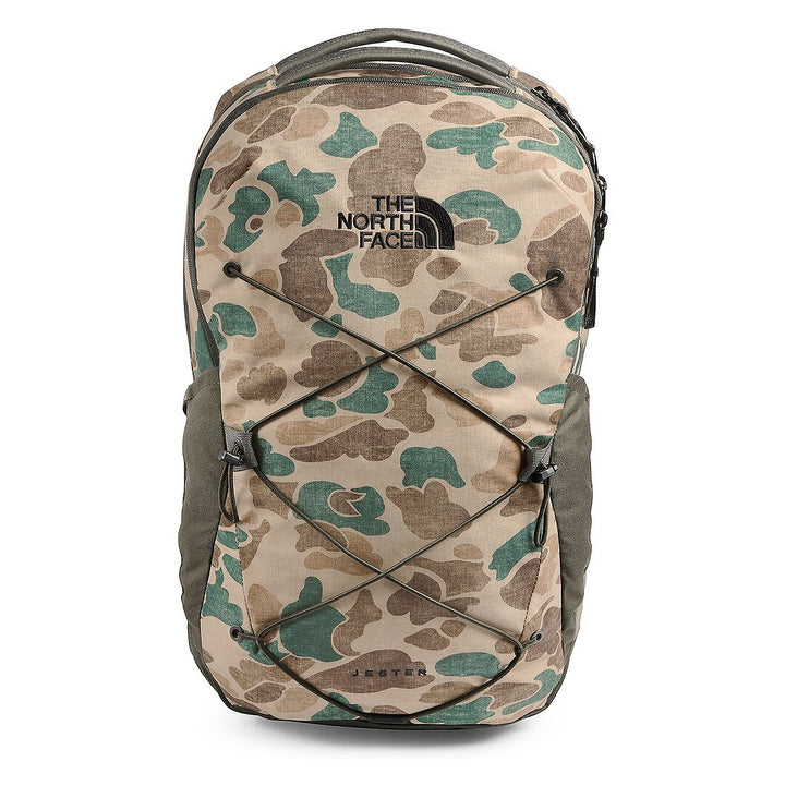 The North Face Jester Backpack Khaki Duck Camo