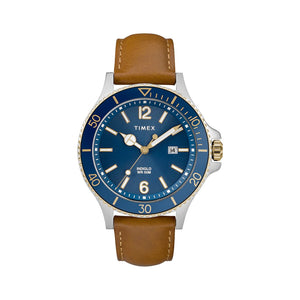 Timex Harbourside 42mm w/Leather Strap